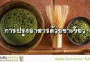 การปรุงอาหารด้วยชาเขียว